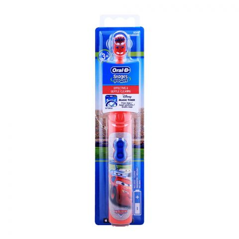 Oral-B Stages Power Kids Disney & Cars Battery Operated Toothbrush