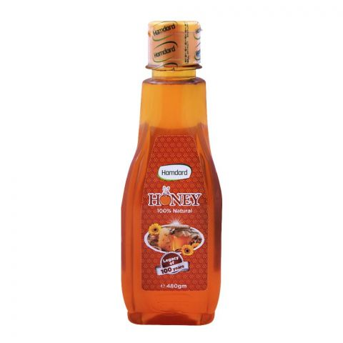 Hamdard Honey, 100% Natural, 480g