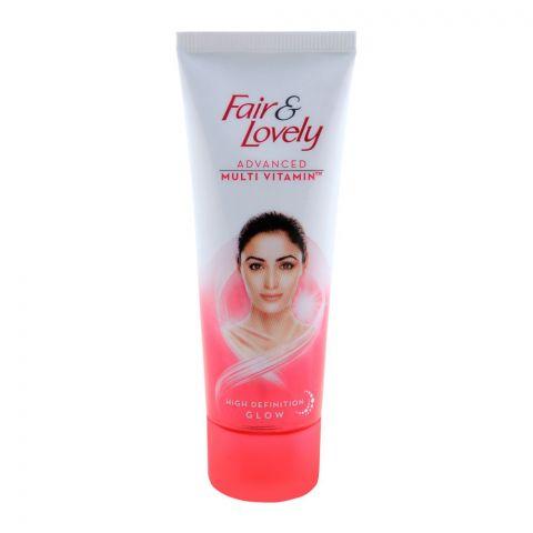Fair & Lovely Advanced Multi Vitamin High Definition Glow Cream 50g