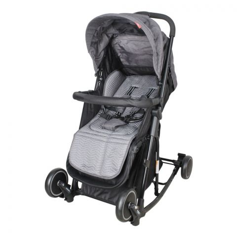 Care Me Baby Stroller, Grey, T609