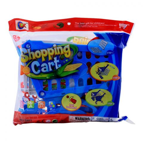 Live Long Shopping Cart, Blue, 1803-B