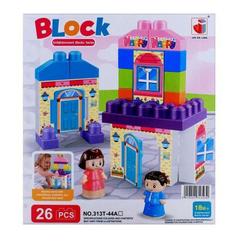 Live Long Big Size Blocks 26 Pieces, 313T-43A