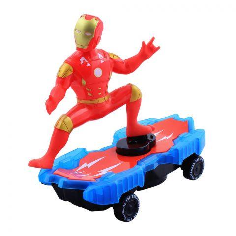 Live Long Avengers Ironman Skateboard, LD-112A-1-A