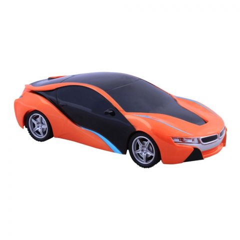 Live Long Remote Control (RC) BMW 18 Car, Orange, SH091-16-O