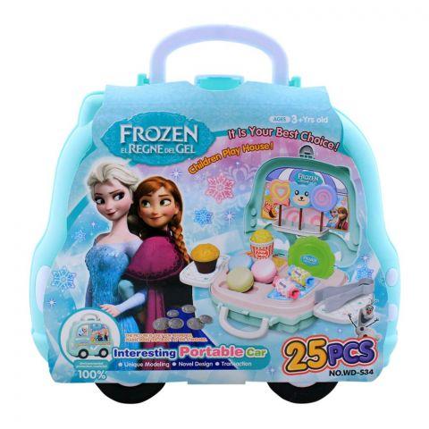 Live Long Frozen Candy Portable Car Set, WD-S34