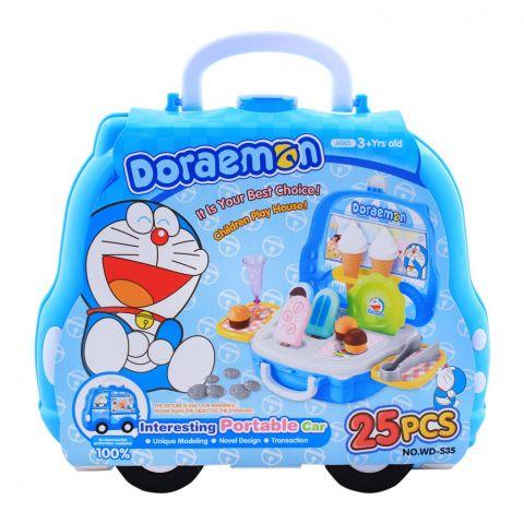 Live Long Doraemon Ice Cream Portable Car Set, WD-S35
