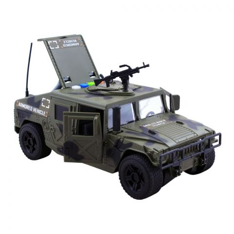 Live Long Friction Military War Vehicle, WY610A