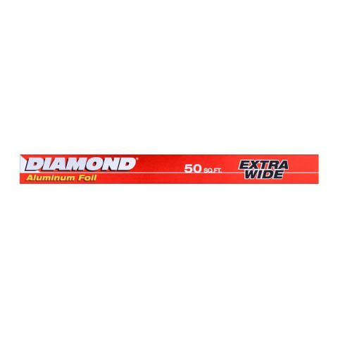 Diamond Aluminum Foil 50 Sq. Ft.