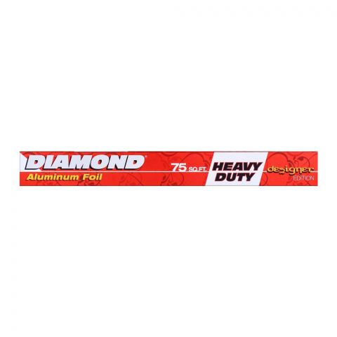 Diamond Aluminum Foil 75 Sq. Ft. Heavy Duty