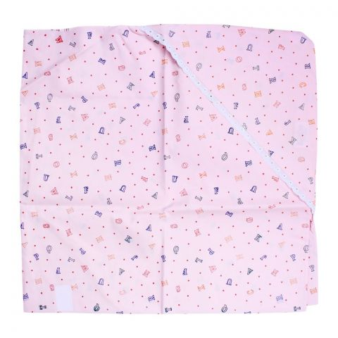 Angel's Kiss Baby Wrapping Sheet, Pink