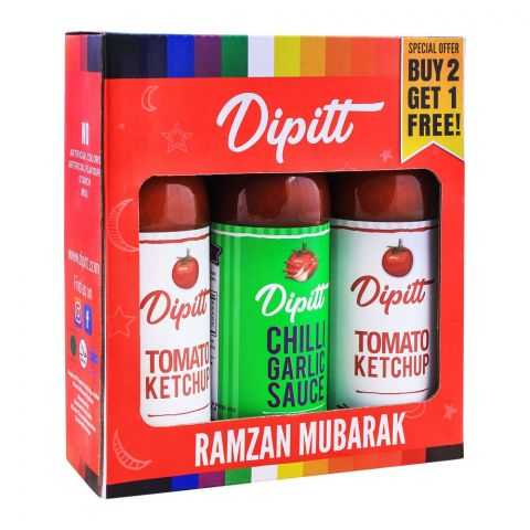 Dipitt Buy 2 Get 1 Free Ramazan Offer Pack