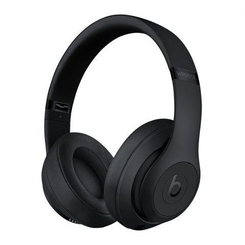 Beats Studio 3 Wireless Noise Canceling Headphones, Matte Black
