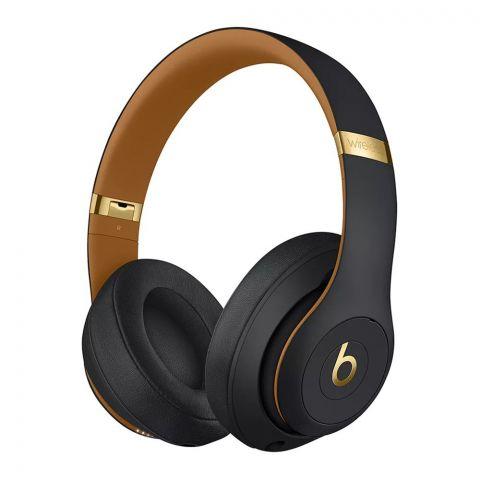 Beats Studio 3 Wireless Noise Canceling Headphones, Midnight Black