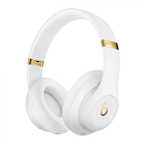 Beats Studio 3 Wireless Noise Canceling Headphones, White