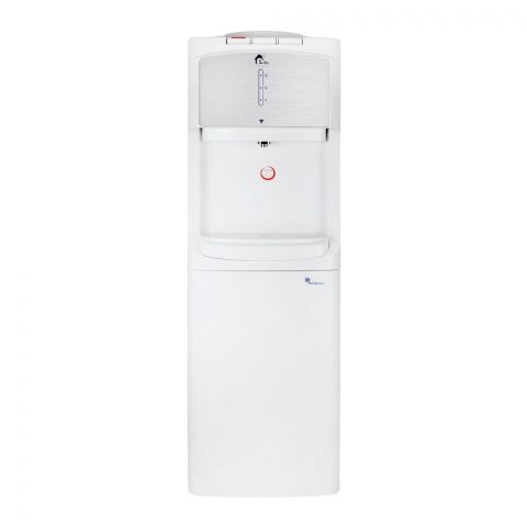 E-Lite Water Dispenser With Refrigerator, White, EWD-12
