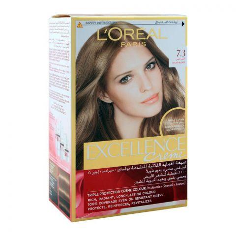 L'Oreal Paris Excellence Hair Colour, Golden Blonde, 7.3