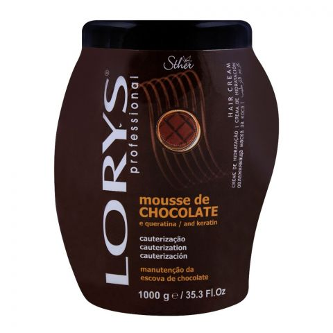 Lorys Professional Mousse De Chocolate and Keratin Hair Cream 1000g