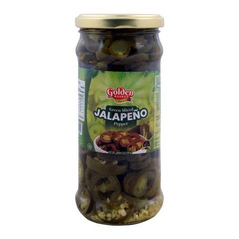 Golden Basket Green Sliced Jalapeno Pepper 460g