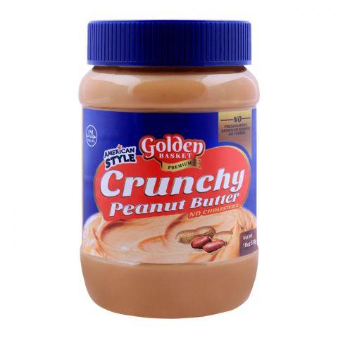 Golden Basket Crunchy Peanut Butter 510g