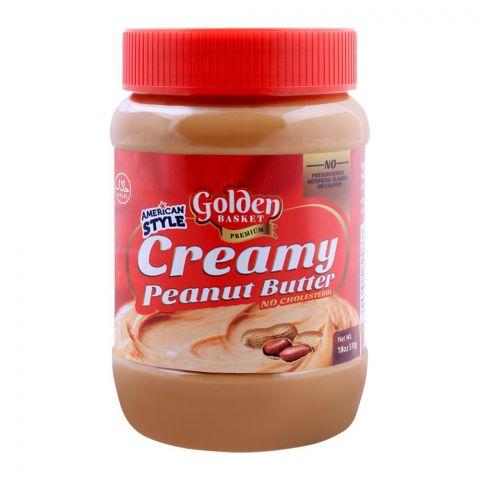 Golden Basket Creamy Peanut Butter 510g
