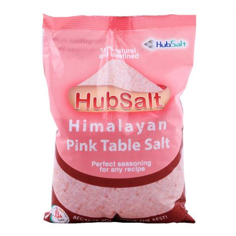 HubSalt Himalayan Pink Table Salt, 800g