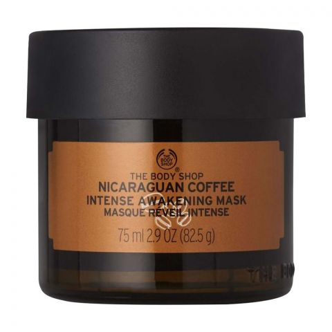 The Body Shop Nicaraguan Coffee Intense Awakening Mask, 75ml