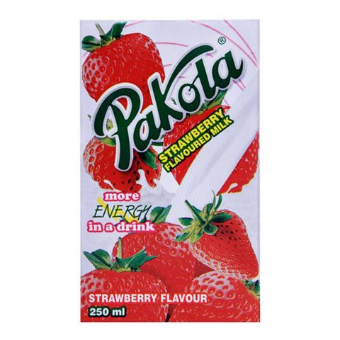 Pakola Strawberry Flavoured Milk 250ml