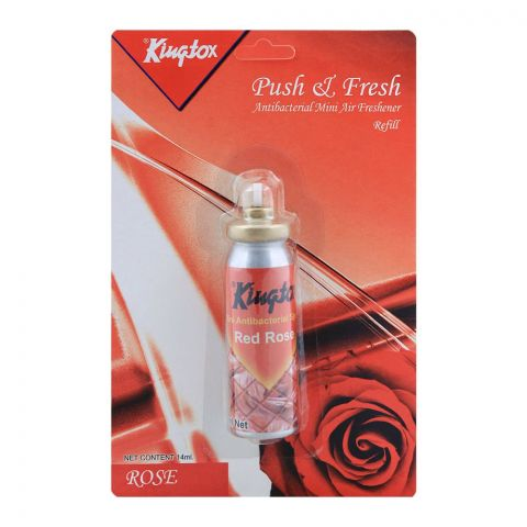 Kingtox Rose Push & Fresh Mini Air Freshener Refill