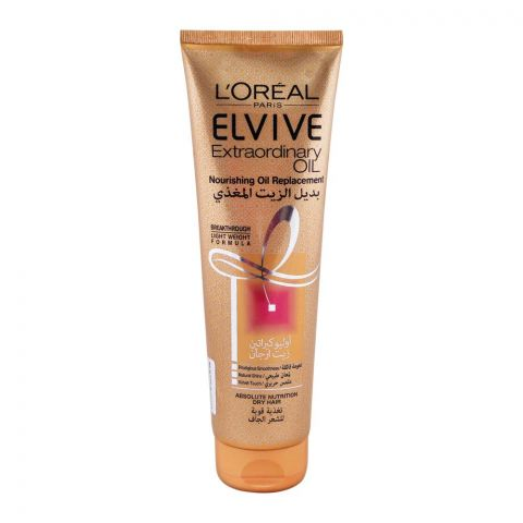 L'Oreal Paris Elvive Extraordinary Oil Nourishing Oil Replacement, For Dry Hair, 300ml