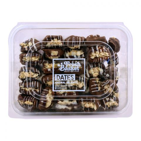 Fresh Basket Almond Chocolate Dates 750g