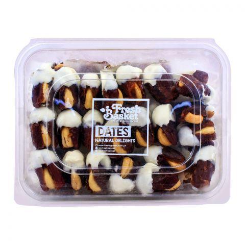Fresh Basket White 0Chocolate Dates 750g