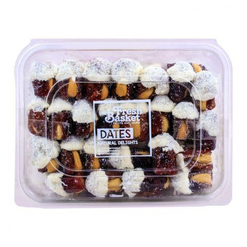 Fresh Basket Coconut Chocolate Dates 750g