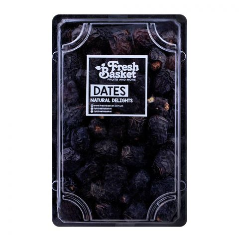 Fresh Basket Ajwa Dates Small Size 500g