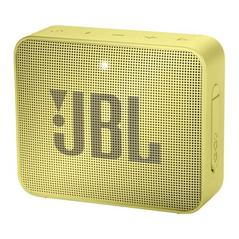 JBL Go2 Portable Bluetooth Speaker, Yel