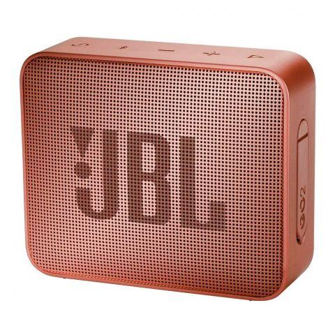 JBL Go2 Portable Bluetooth Speaker, Cinnamon