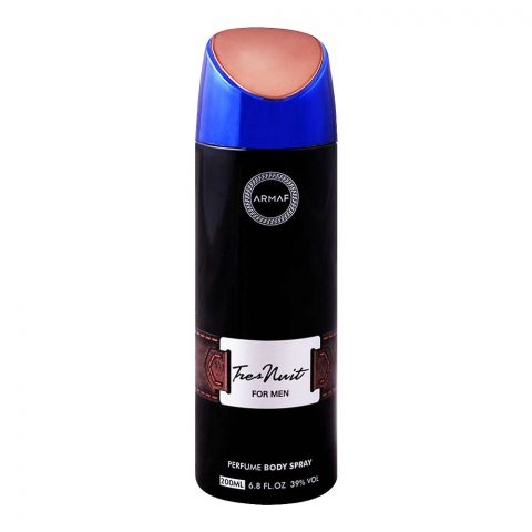 Armaf Tres Nuit For Man Deodorant Body Spray, 200ml