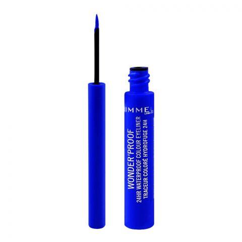 Rimmel Wonder'Proof 24HR Waterproof Colour Eyeliner, 005 Pure Blue