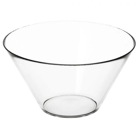 IKEA Trygg Clear Glass Serving Bowl, 20132453