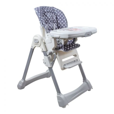 Tinnies Baby Adjustable High Chair, Grey, BG-89