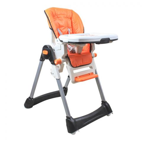 Tinnies Baby Adjustable High Chair, Orange, BG-89