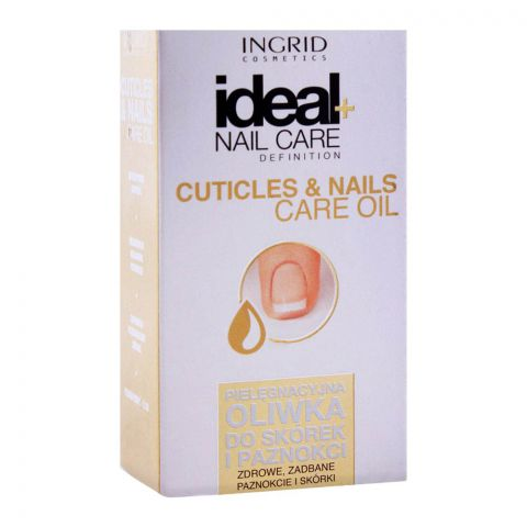 Ingrid Ideal+ Nail Care Cuticles & Nails Care Oil, 7ml