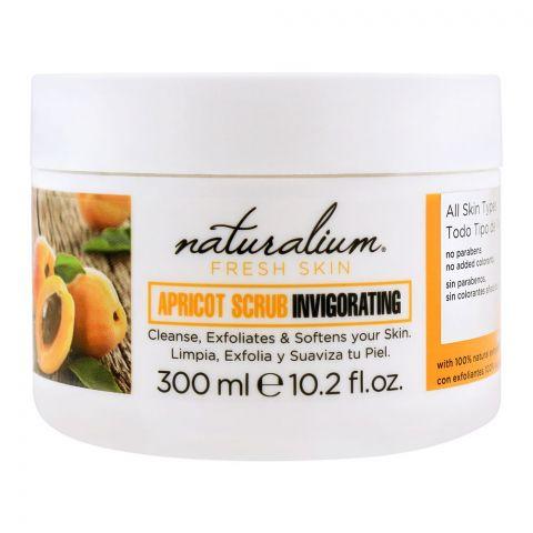 Naturalium Fresh Skin Apricot Scrub Invigorating, All Skin Types, 300ml