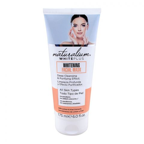 Naturalium White Plus Whitening Facial Mask, All Skins Types, 175ml