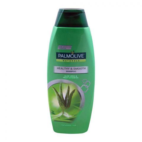 Palmolive Naturals Healthy & Smooth Shampoo, Aloe Vera, Normal Skin, 375ml
