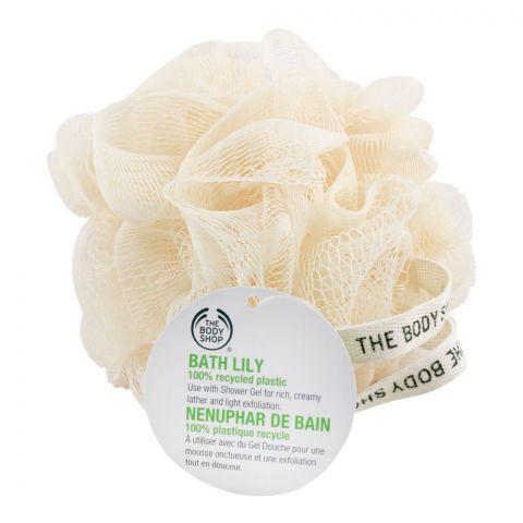The Body Shop Bath Lily, Loofah, Ultra Fine Cream