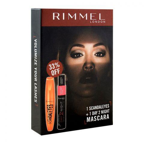 Rimmel Scandaleyes + Day 2 Night Mascara 33% OFF