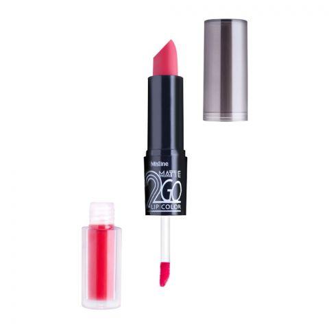 Mistine Matte 2 Go Lip Color, 01, Red