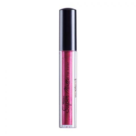 Mistine Super Matte Metallic Lip Color, 12, Copper Red