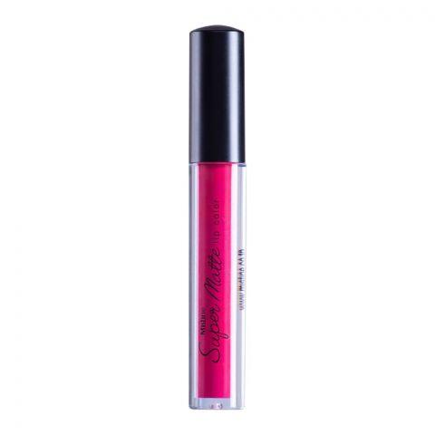 Mistine Super Matte Air Matte Liquid Lip Color, 04, Dark Pink
