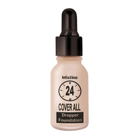 Mistine 24 Cover All Dropper Foundation, F3, Sand